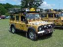 Some pictures of real Camel Trophy Landrovers