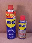 Two cans of WD40